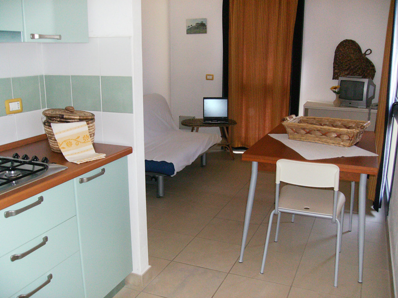Residence- Cucina monolocale